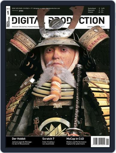 Digital Production December 17th, 2012 Issue Cover