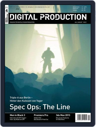 Digital Production June 25th, 2012 Issue Cover