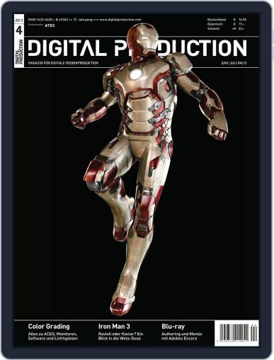 Digital Production January 1st, 1970 Issue Cover