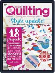 Love Patchwork & Quilting (Digital) Subscription December 1st, 2019 Issue
