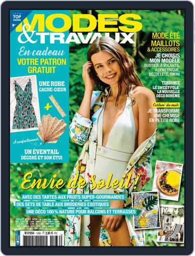 Modes & Travaux July 1st, 2020 Digital Back Issue Cover