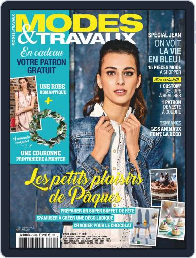 Modes & Travaux April 1st, 2020 Digital Back Issue Cover