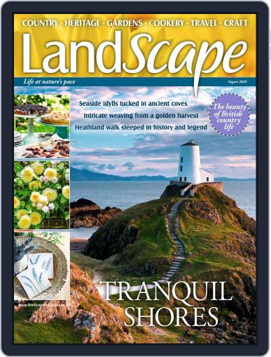 Landscape (Digital) August 1st, 2020 Issue Cover
