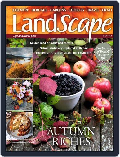 Landscape (Digital) October 1st, 2019 Issue Cover