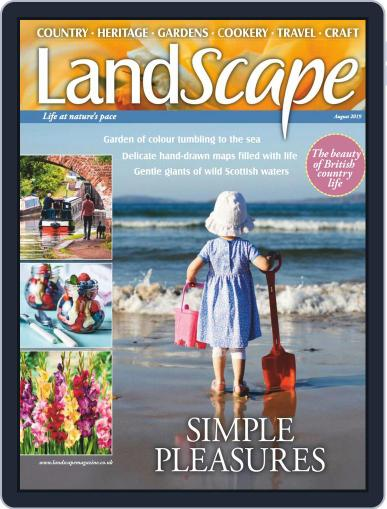 Landscape (Digital) August 1st, 2019 Issue Cover