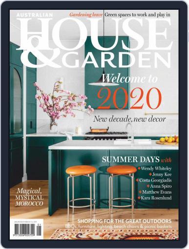 Australian House & Garden January 1st, 2020 Digital Back Issue Cover