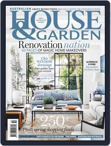 Australian House & Garden October 1st, 2019 Digital Back Issue Cover