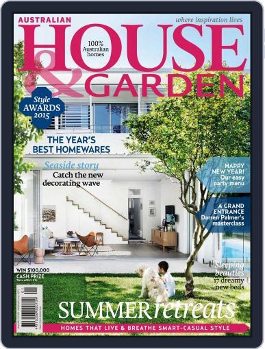 Australian House & Garden (Digital) January 1st, 2016 Issue Cover