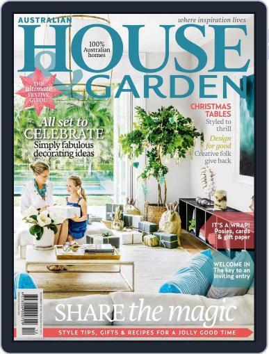 Australian House & Garden (Digital) October 31st, 2015 Issue Cover
