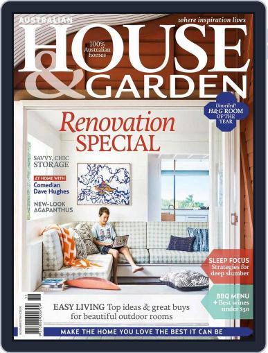 Australian House & Garden (Digital) October 3rd, 2015 Issue Cover