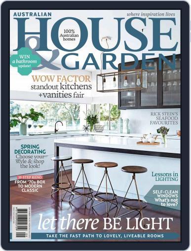 Australian House & Garden (Digital) September 1st, 2015 Issue Cover