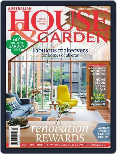 Australian House & Garden (Digital) April 1st, 2015 Issue Cover