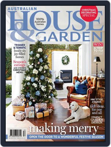 Australian House & Garden (Digital) October 26th, 2014 Issue Cover