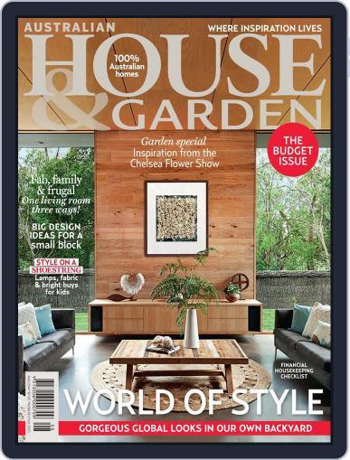 Australian House & Garden (Digital) July 11th, 2014 Issue Cover