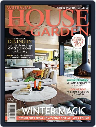 Australian House & Garden (Digital) June 1st, 2014 Issue Cover