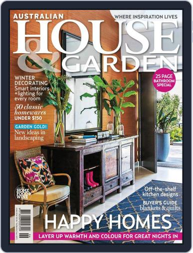 Australian House & Garden (Digital) May 4th, 2014 Issue Cover