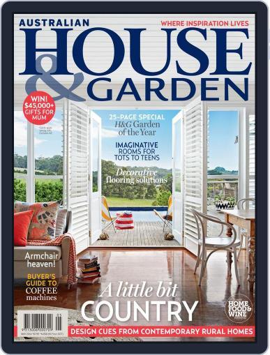 Australian House & Garden (Digital) April 6th, 2014 Issue Cover