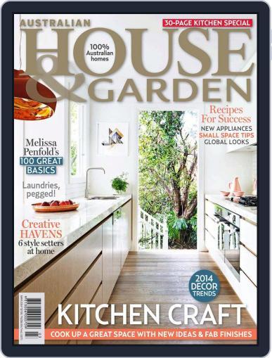 Australian House & Garden (Digital) February 1st, 2014 Issue Cover