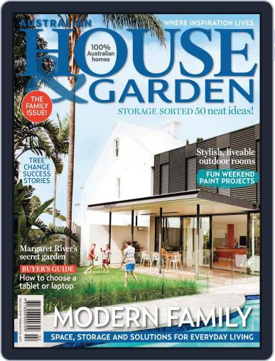 Australian House & Garden (Digital) January 5th, 2014 Issue Cover