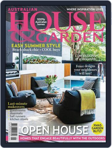 Australian House & Garden (Digital) December 9th, 2013 Issue Cover