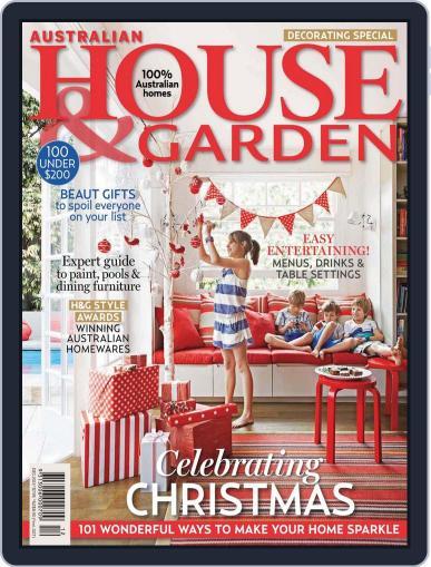Australian House & Garden (Digital) November 3rd, 2013 Issue Cover