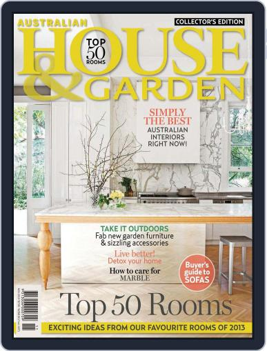 Australian House & Garden (Digital) October 6th, 2013 Issue Cover