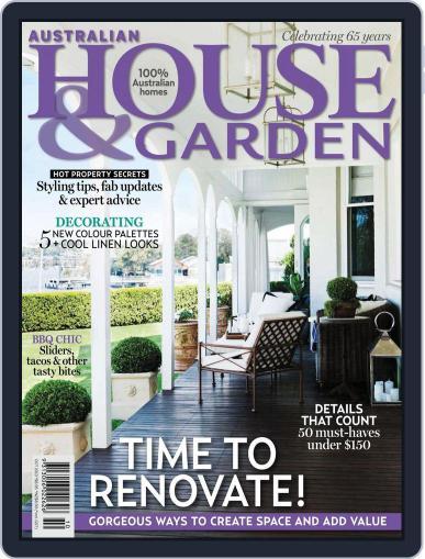 Australian House & Garden (Digital) September 8th, 2013 Issue Cover