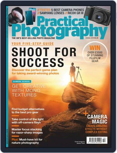 Practical Photography: Lite October 1st, 2019 Digital Back Issue Cover