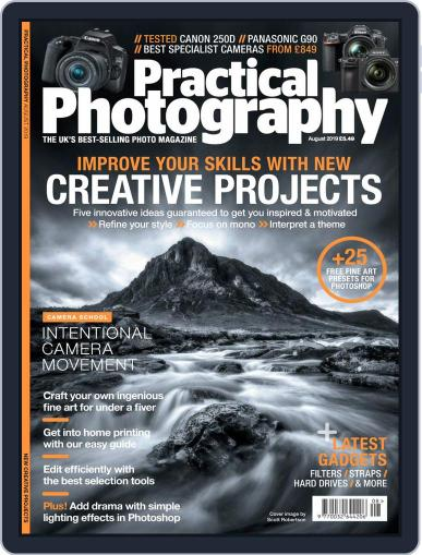 Practical Photography: Lite August 1st, 2019 Digital Back Issue Cover