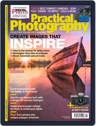 Practical Photography: Lite (Digital) September 1st, 2018 Issue Cover