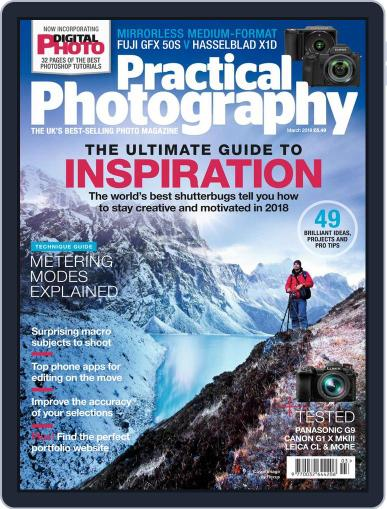 Practical Photography: Lite (Digital) March 1st, 2018 Issue Cover