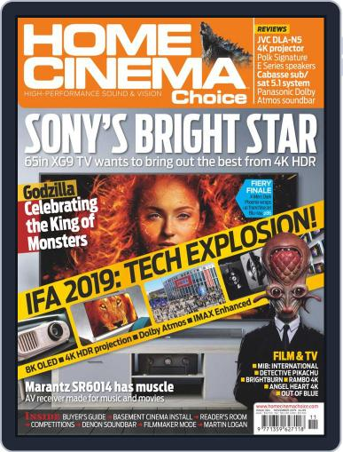 Home Cinema Choice (Digital) November 1st, 2019 Issue Cover