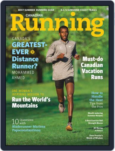 Canadian Running (Digital) July 1st, 2020 Issue Cover