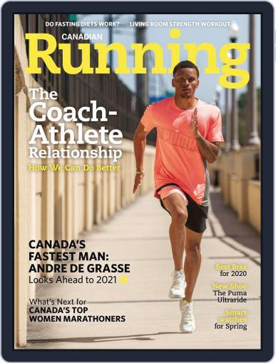 Canadian Running (Digital) May 1st, 2020 Issue Cover