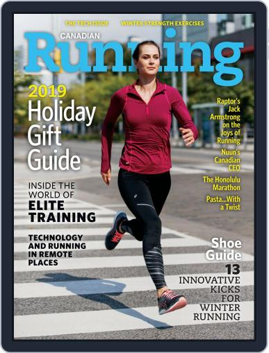 Canadian Running (Digital) November 1st, 2019 Issue Cover