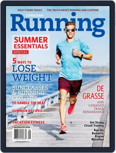 Canadian Running (Digital) July 1st, 2018 Issue Cover