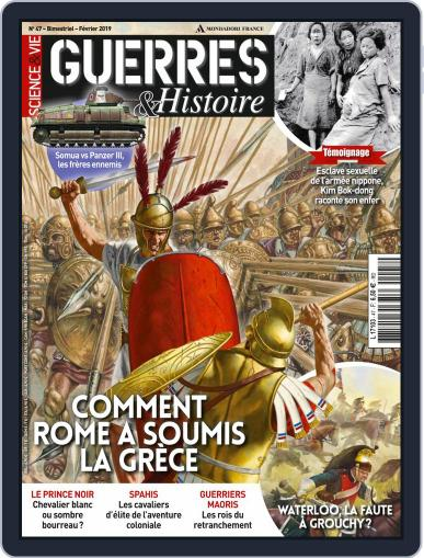 Guerres & Histoires (Digital) February 1st, 2019 Issue Cover
