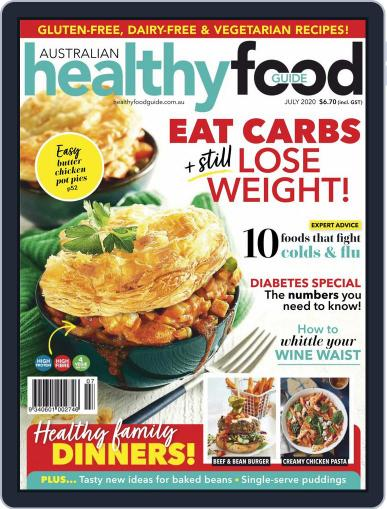 Healthy Food Guide (Digital) July 1st, 2020 Issue Cover
