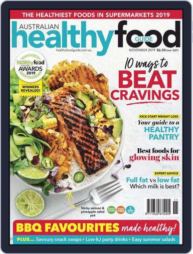 Healthy Food Guide (Digital) November 1st, 2019 Issue Cover