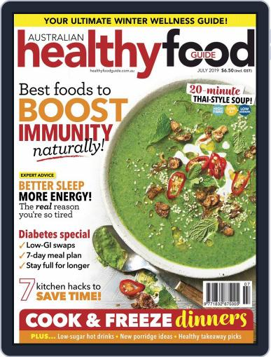 Healthy Food Guide (Digital) July 1st, 2019 Issue Cover