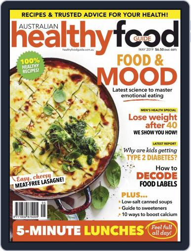 Healthy Food Guide (Digital) May 1st, 2019 Issue Cover