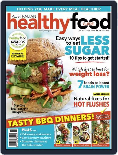 Healthy Food Guide (Digital) November 1st, 2018 Issue Cover