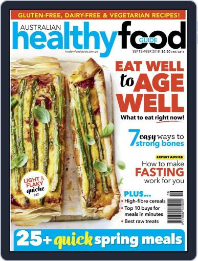 Healthy Food Guide (Digital) September 1st, 2018 Issue Cover