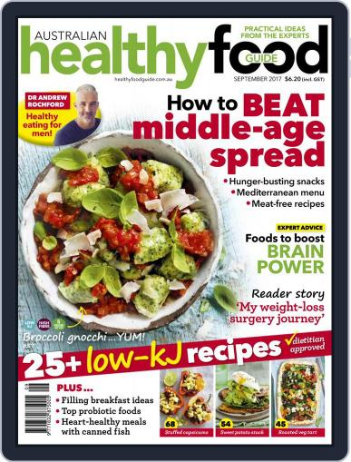 Healthy Food Guide (Digital) September 1st, 2017 Issue Cover