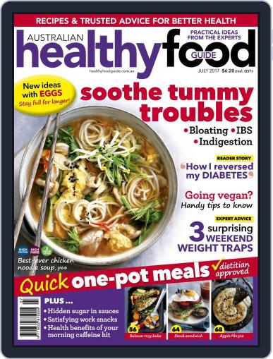 Healthy Food Guide (Digital) July 1st, 2017 Issue Cover