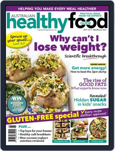 Healthy Food Guide (Digital) May 1st, 2017 Issue Cover