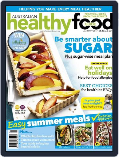 Healthy Food Guide (Digital) January 1st, 2017 Issue Cover