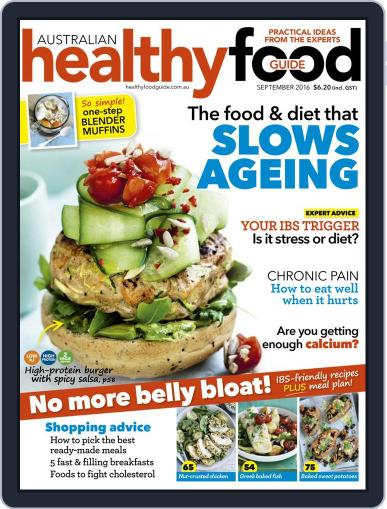 Healthy Food Guide (Digital) August 14th, 2016 Issue Cover