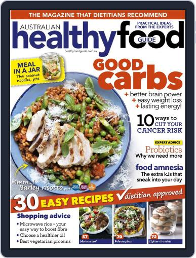 Healthy Food Guide (Digital) June 12th, 2016 Issue Cover