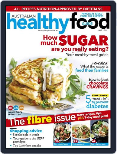Healthy Food Guide (Digital) May 15th, 2016 Issue Cover